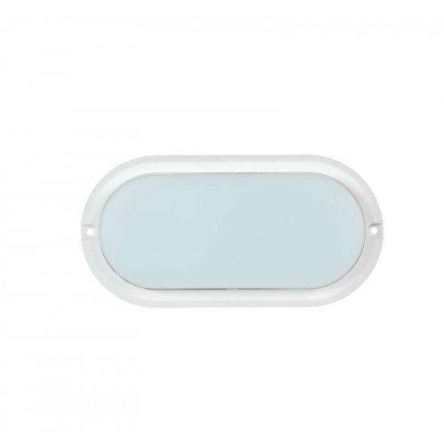 Светильник светодиодный ДПО 4011 8Вт 4000К IP54 овал бел. ИЭК LDPO0-4011-8-4000-K01