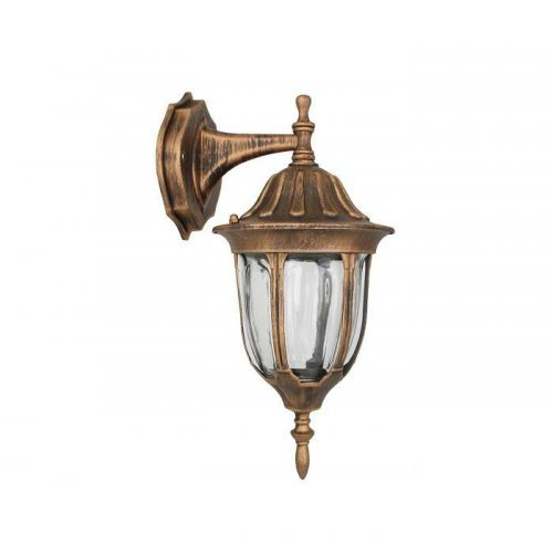 Светильник 4502 (НБУ 60Вт) 60Вт E27 IP43 улично-садовый бронза Camelion 10530
