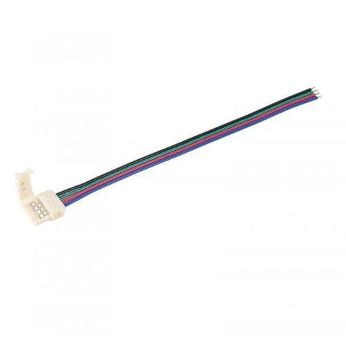Коннектор RGB 10мм (15см-разъем) (уп.3шт) ИЭК LSCON10-RGB-213-03