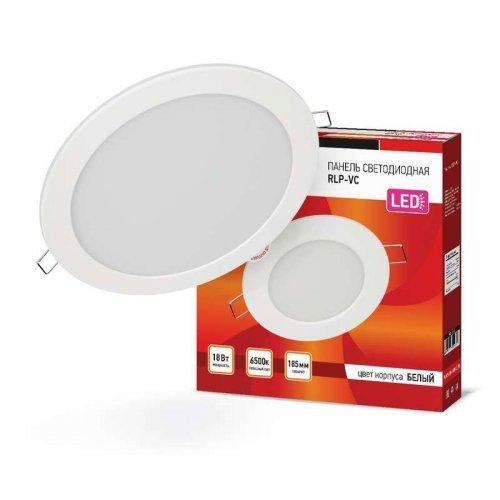 Светильник светодиодный RLP-VC 18Вт 230В 6500К 1440лм 185мм бел. (Аналог Downlight) IP40 IN HOME 4690612024547