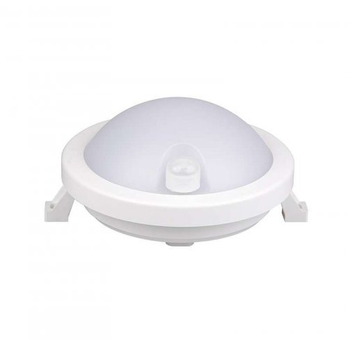 Светильник светодиодный пылевлагозащ. PBH - PC3-RSI 12Вт 4000К White IP65 Sensor JazzWay 5009424