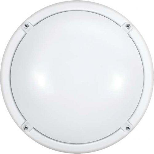 Светильник LED 71 622 OBL-R1-7-4K-WH-IP65-LED-SNRV 7Вт 4000К IP65 (оптико-акустич. датчик) ОНЛАЙТ 71622