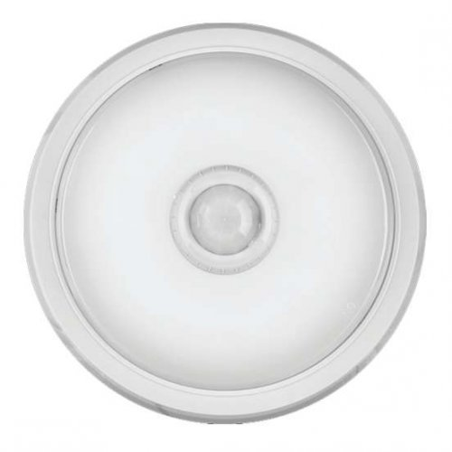 Светильник LED 61 184 OBL-R1-10-4K-WH-IP40-LED-SNR ( Аналог НПП с датчиком) ОНЛАЙТ 61184