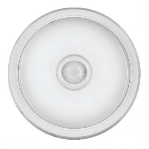Светильник LED 61 185 OBL-R1-14-4K-WH-IP40-LED-SNR ( Аналог НПП с датчиком) ОНЛАЙТ 61185