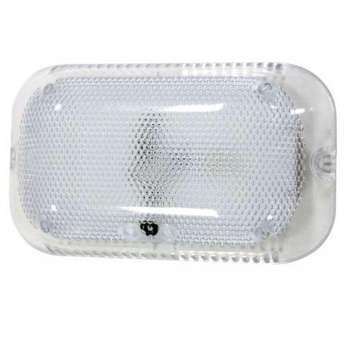 Светильник ЖКХ Сенсори LED 170х100 7Вт 840лм 6500К IP30 с оптико-аккустическим датчиком (инд. упак.) Элетех 1030450338