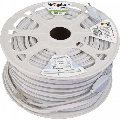Лента светодиодная 71 929 NLS-2835СW92-9-IP67-220V-NEONLED R20 (уп.20м) Navigator 71929