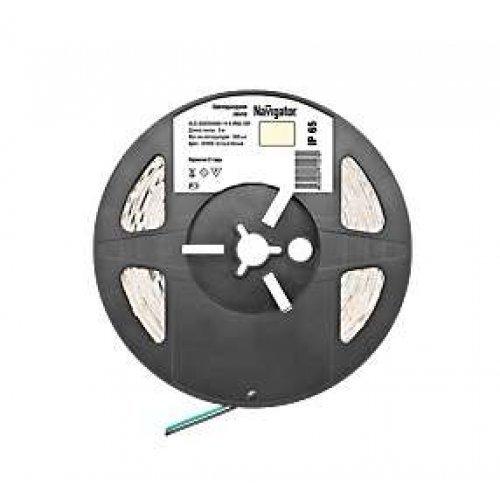 Лента светодиодная 71 427 NLS-5050WW60-14.4 IP65 12B R5 14.4Вт/м (уп.5м) Navigator 71427