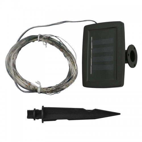 """Светильник садовый USL-S-128/PT9900 на солнечной батарее """"Роса"""" DEW IP44 Uniel UL-00004672"""