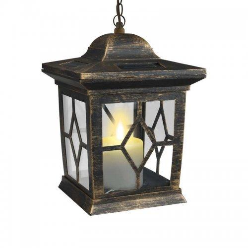 Светильник садовый USL-S-180/PT220 на солнечной батарее Bronze lantern Special упак. Коробка Uniel 10227
