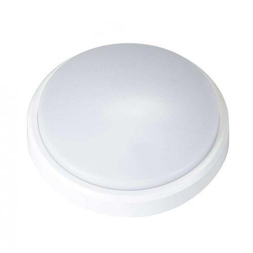 Светильник LED PBH-PC2-RA 8Вт 4000К IP65 (аналог НПП) круглый бел. JazzWay 1035646