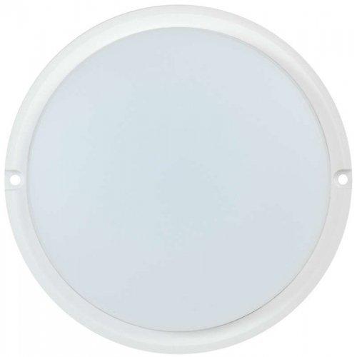 Светильник светодиодный ДПО 4001 8Вт 4000К IP54 круг бел. ИЭК LDPO0-4001-8-4000-K01