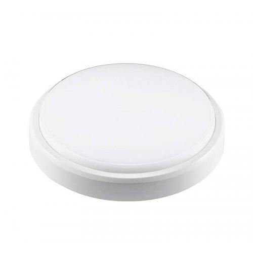 Светильник LED PBH-PC2-RA 12Вт 4000К IP65 (аналог НПП) круглый бел. JazzWay 1035660
