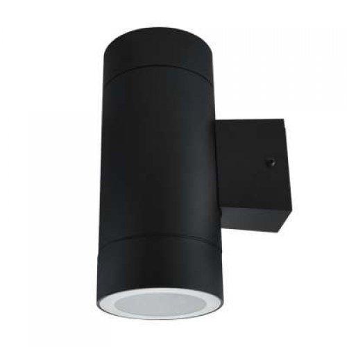 Светильник уличный двухсторонний GX53S-2B-цилиндр под лампу GX53 230В IP65 черн. IN HOME 4690612023533