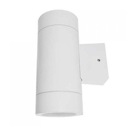 Светильник уличный двухсторонний GX53S-2W-цилиндр под лампу GX53 230В IP65 бел. IN HOME 4690612023526