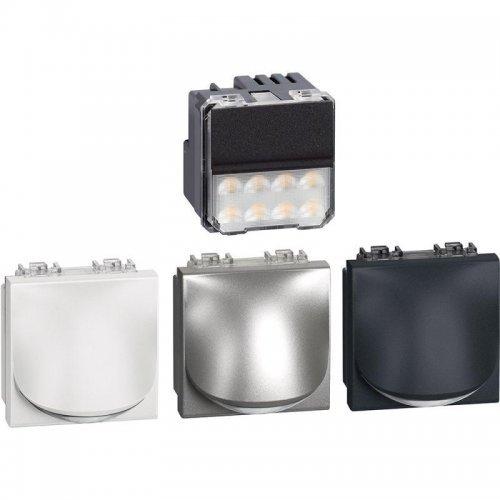 Светильник точечный LivingLight для лестницы LED 230В 2.2Вт 70Лм 2м алюм. антрацит Leg BTC LN4361