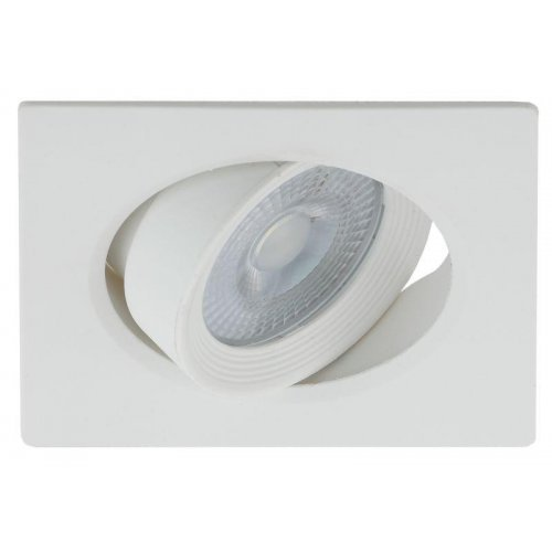 Светильник светодиодный KL LED 21A-5 4K WH квадратный поворотн. LED SMD 5Вт 4000К бел. ЭРА Б0037035