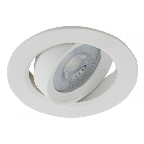 Светильник светодиодный KL LED 22A-5 4K WH круглый поворотн. LED SMD 5Вт 4000К бел. ЭРА Б0037037