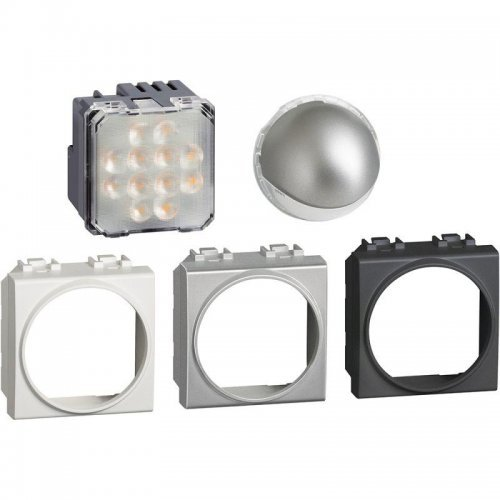 Светильник точечный поворот. LED. 230В 2.8Вт 70Лм 2м алюм. антрацит Leg BTC LN4360