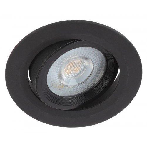 Светильник светодиодный KL LED 22A-5 4K BK круг. поворотн. LED SMD 5Вт 4000К черн. ЭРА Б0039687