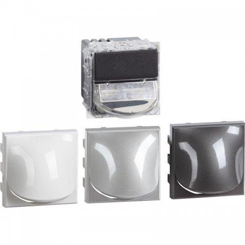 Светильник точечный 2м для лестницы LED 230В 2.2Вт 70Лм алюм. антрацит Leg BTC H4361