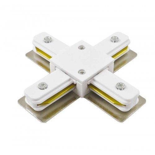 Коннектор PTR CX-WH X-обр. бел. JazzWay 5010888