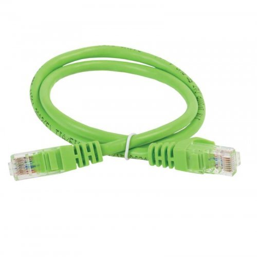 Патч-корд кат.5е UTP 0.5м зел. ITK PC02-C5EU-05M