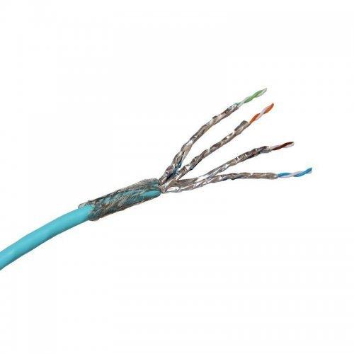 Кабель для локальныхсетей категория 8 S/FTP 4 пары LSOH (уп.500м) Leg 033788