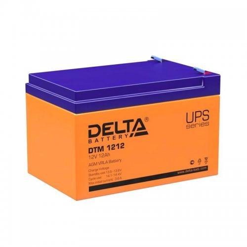 Аккумулятор 12В 12А.ч Delta DTM 1212