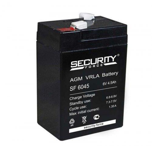 Аккумулятор 6В 4.5А.ч Security Force SF 6045