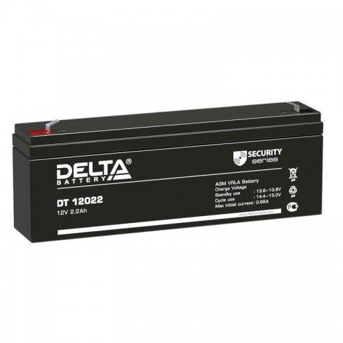 Аккумулятор 12В 2.2А.ч Delta DT 12022