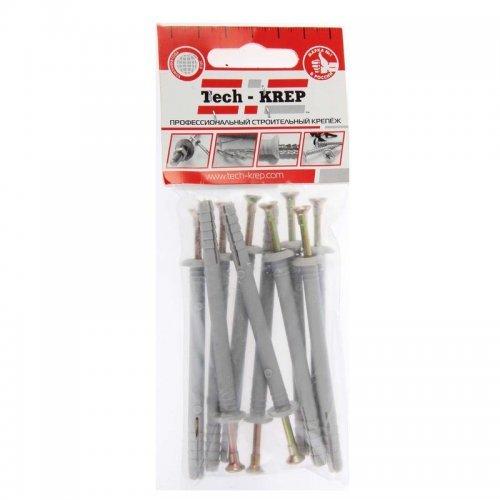 Дюбель-гвоздь 6х80 с грибовидной манжетой полипропилен (уп.10шт) пакет Tech-Krep 103902
