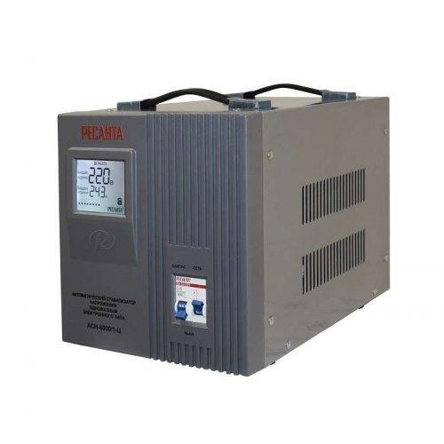 Стабилизатор напряжения АСН-8000/1-Ц 1ф 8кВт IP20 релейный Ресанта 63/6/7