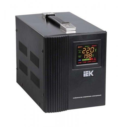 Стабилизатор напряжения HOME СНР 1/220 1.5кВА переносной ИЭК IVS20-1-01500