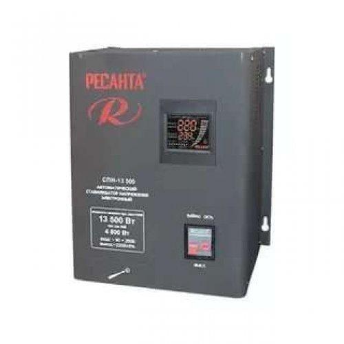 Стабилизатор СПН-13500 1ф 13.5кВт 90-260В IP20 пониж. напр. Ресанта 63/6/28
