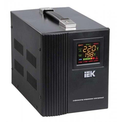 Стабилизатор напряжения HOME СНР 1/220 3кВА переносной ИЭК IVS20-1-03000