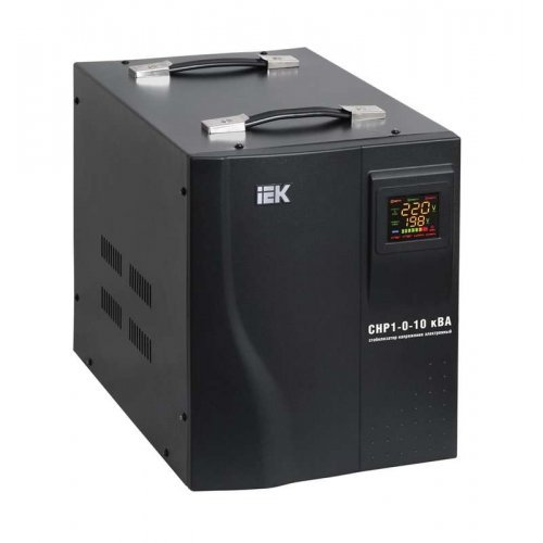 Стабилизатор напряжения HOME СНР 1/220 10кВА переносной ИЭК IVS20-1-10000