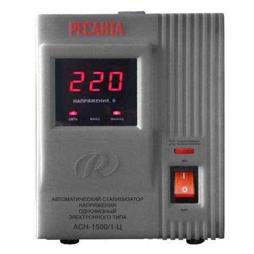 Стабилизатор напряжения АСН-1500/1-Ц 1ф 1.5кВт IP20 релейный Ресанта 63/6/3