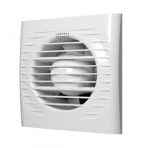 Вентилятор вытяжной осевой 100мм обр. клапан бел. ERA OPTIMA 4C