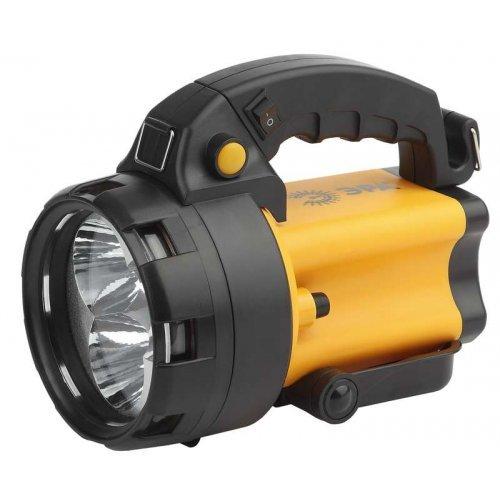 Фонарь PA-604 АЛЬФА 3x1Вт LED SMD аккум. прожектор литий 3А.ч сигнал.св. ЗУ 220В+12В (инд. упак.) (8/144) ЭРА Б0031035