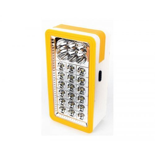 Фонарь для кемпинга LED56326 3XD 6 +18LED рукоятка пластик Ultraflash 14250