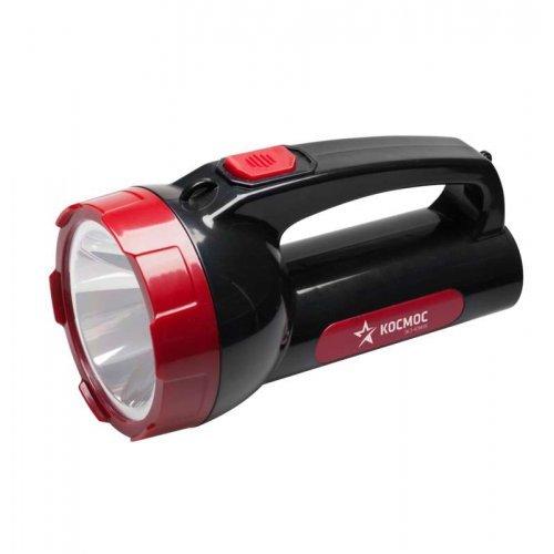 Фонарь светодиодный аккум. BASIC 1х5Вт LED зарядка 220В КОСМОС KOCAc9105WLED