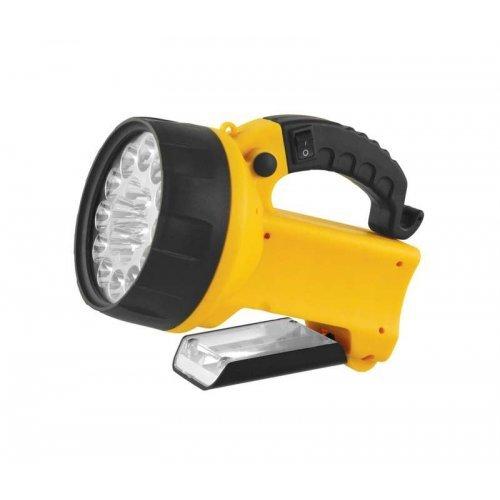 Фонарь UF3712LED (аккум 220В/12В желт. 19 LED; 4В 2Ач пласт. короб) Ultraflash 8310