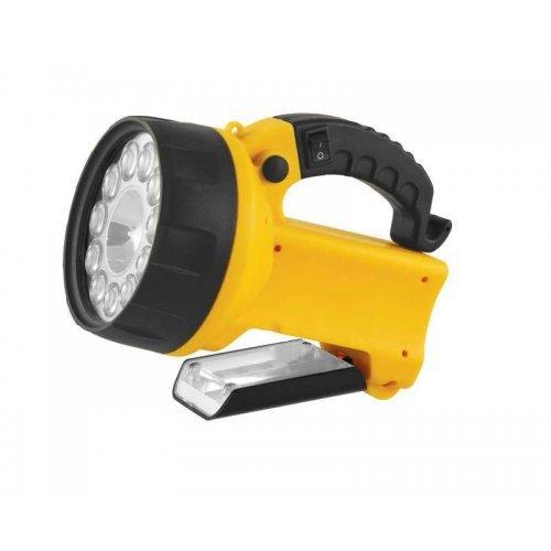 Фонарь UF3753LED (аккум 220В/12В желт. 11 LED; + галоген. 4В 2А-ч пласт. короб) Ultraflash 8311