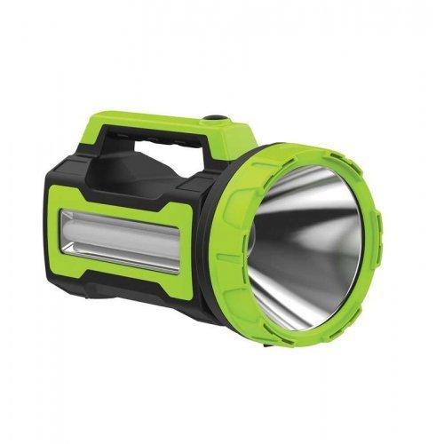 Фонарь светодиодный аккум. KOSMOS premium 10W LED бок. панель 3Вт 3 режима регулировка яркости зарядное устройство 220/12В USB выход КОСМОС KOSAccu9110WUSB