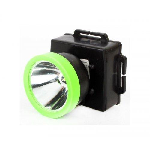 Фонарь налобный LED53762 1LED 0.5Вт 1 режю 3XR6 пластик. черн. Ultraflash14254