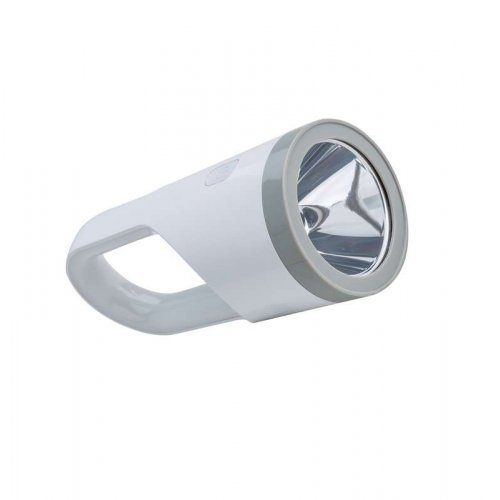 Фонарь аккум. 5Вт LED + 19Вт LED 3.7В 1800мА.ч USB шнур КОСМОС KOSAccu9105W_pearl