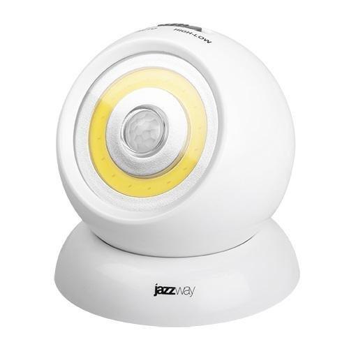 Светильник-фонарь беспроводной TS1-L3W-SENS датчик движения JazzWay 5023260