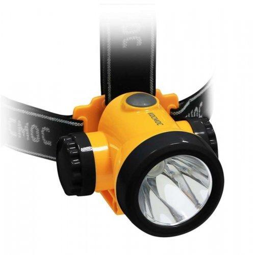 Фонарь светодиодный аккум. налобный литиевый H3W 2 режима 3Вт LED 1.5А.ч зарядка от USB КОСМОС KOCH3WLi-On