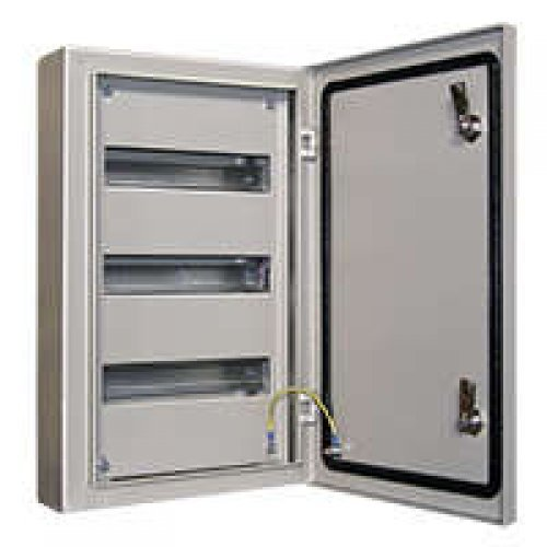 Корпус металлический ЩРН-36 520х330х120 IP54 ASD-electric МС.12.54.03