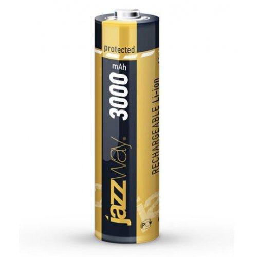Аккумулятор Li-Ion 18650 3000мАч с защитой JAZZway 5012073